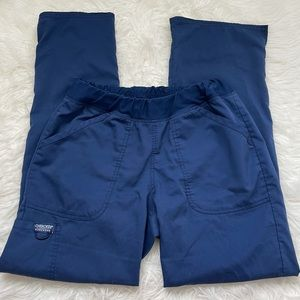 CHEROKEE Navy Blue Scrub Pants Size S